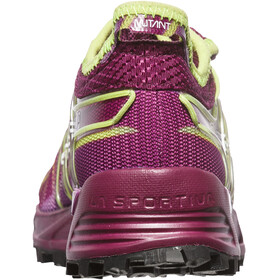 La Sportiva W's Mutant Shoes Plum/Apple Green